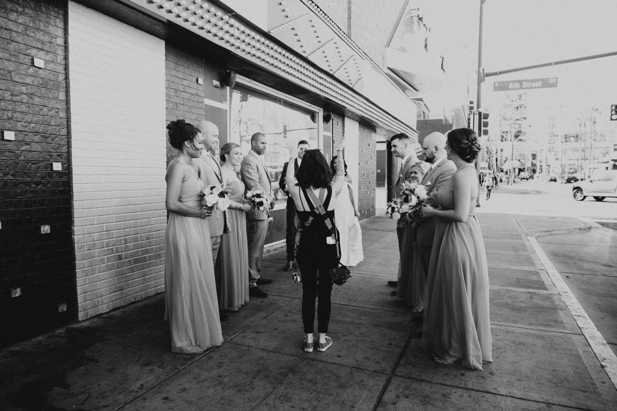 las vegas downtown elopement