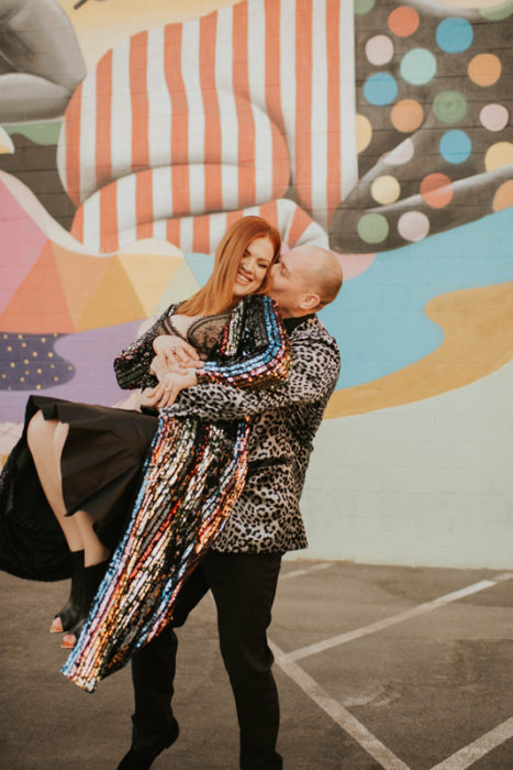 Downtown las Vegas Elopement Wedding